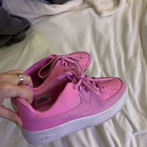 pink air force one sage low